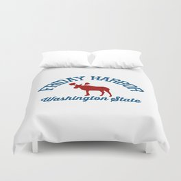 Friday Harbor. Duvet Cover