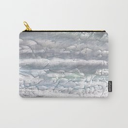 Gray abstract Carry-All Pouch