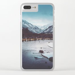 Ebb and Flow Clear iPhone Case