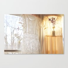 flower and dresses IIII Canvas Print