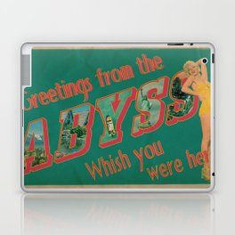 Welcome to the Abyss Laptop & iPad Skin