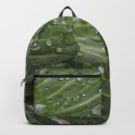 Nature's green and diamonds (2nd in the Cabbage collection) Backpack