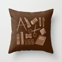 Stationery(Ver.2) Throw Pillow