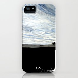 Vic Iceland Watercolour by Emily Hunter-Higgins iPhone Case