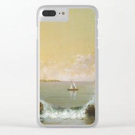 Martin Johnson Heade - Rio De Janeiro Bay Clear iPhone Case