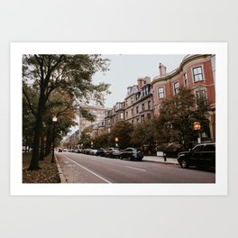 Boston Streets // Art Print