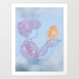 Sophie and Calcifer Art Print