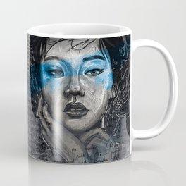 Portrait of A Sick Feeling Coffee Mug