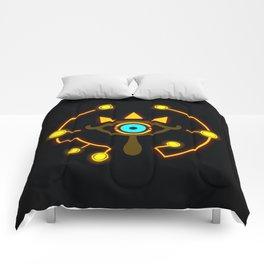 Sheikah Logo Comforters