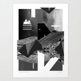 Peak Noise 3 Art Print