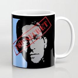 EDWARD SNOWDEN - TOP SECRET Coffee Mug