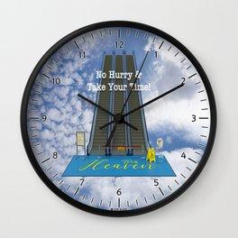 In Heaven - Au Ciel Wall Clock