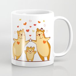 Family of bears Coffee Mug