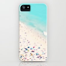 beach love III square iPhone (5, 5s) Slim Case