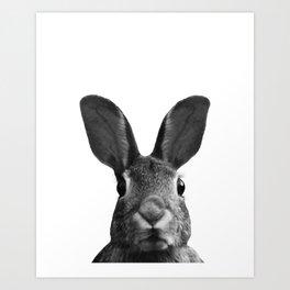 Bunny Selfie Art Print