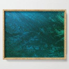 Ferns pattern Serving Tray