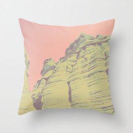 desert trippin Throw Pillow