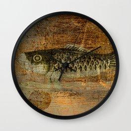 鯉 幟 (The Koinobori) Wall Clock