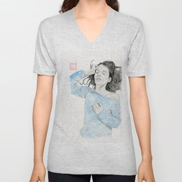 Asleep Unisex V-Neck