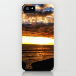 Sunset on the Ocean iPhone Case