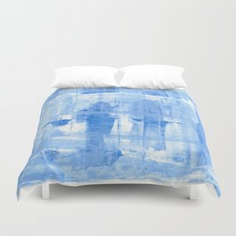 Blue Cell Duvet Cover