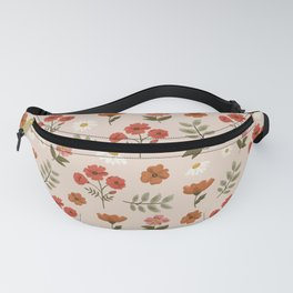 Among the Wildflowers Pattern Fanny Pack
