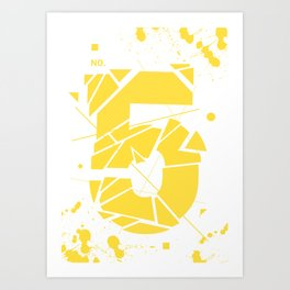 No5 Art Print
