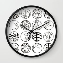Cat are Perfect Wall Clock