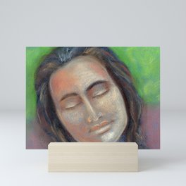 Painting is meditation Mini Art Print