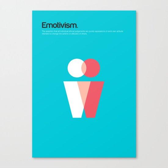 Emotivism Canvas Print