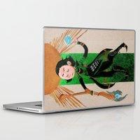 tarot Laptop & iPad Skins featuring Loki Tarot by ARTeapot SHOP
