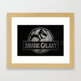 Jurassic Galaxy - Metal Framed Art Print