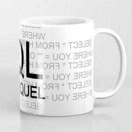SQL The Sequel Ryu4hd Coffee Mug