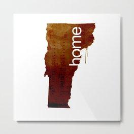 VT 'home' Metal Print