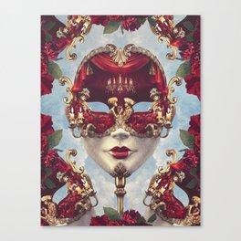 Floral Decadence Canvas Print