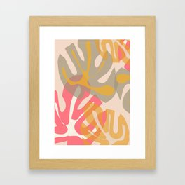 Tropical Wishes Framed Art Print