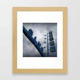 Blue Angel, Las Vegas Framed Art Print