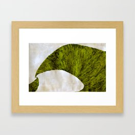 two green arches Framed Art Print