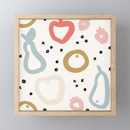 Fruit case Framed Mini Art Print