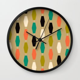 Colima - Tan Wall Clock