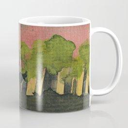 The Woods I Pink Coffee Mug