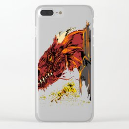 Into the abode of the Dragon Clear iPhone Case