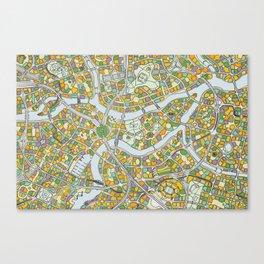 City ONE Canvas Print