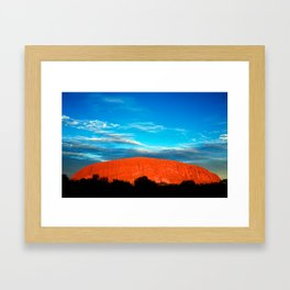 Ayers Rock Framed Art Print