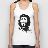 stickers Tank Tops featuring Expect Che by rubbishmonkey