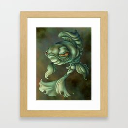 Bad Fish Framed Art Print