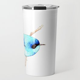 Australian ~ Blue Fairy-wren Travel Mug