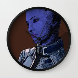 Liara. Wall Clock