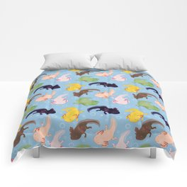 Axolotl Pattern Comforters