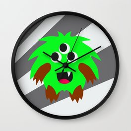 Little Monster 4 Wall Clock